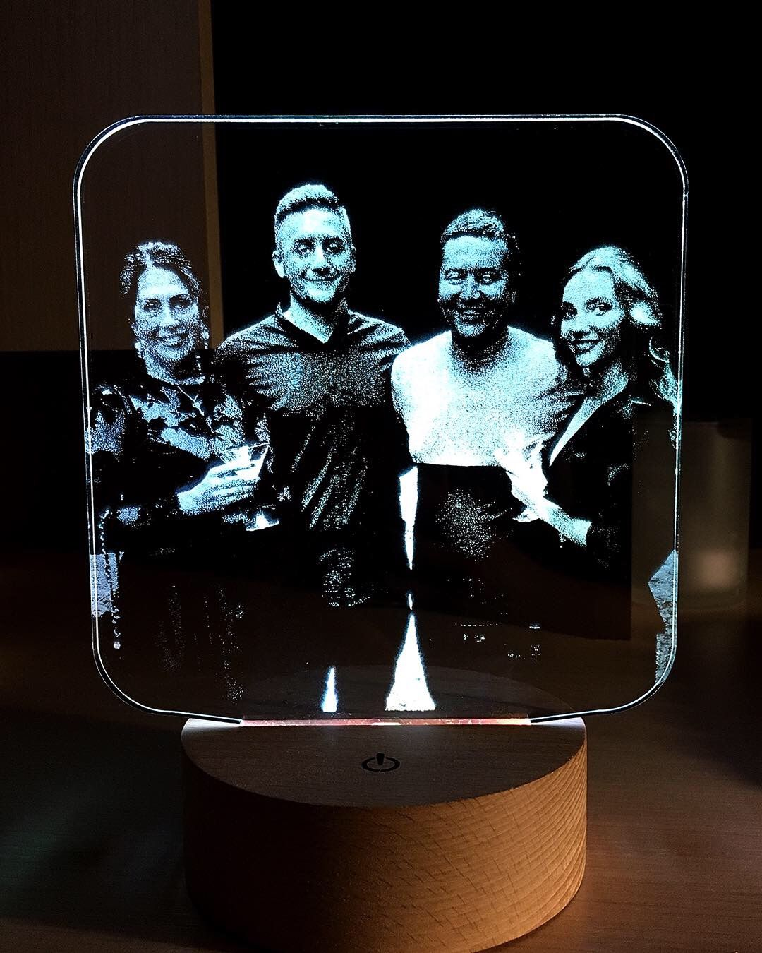 Led Lamps With Your Photo Logo And Design By Murlight On Etsy Photo Lamp 3d Led Lamp Acrylic Sign
