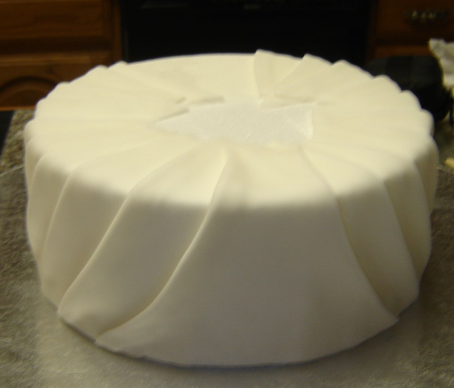 How to pleated cake