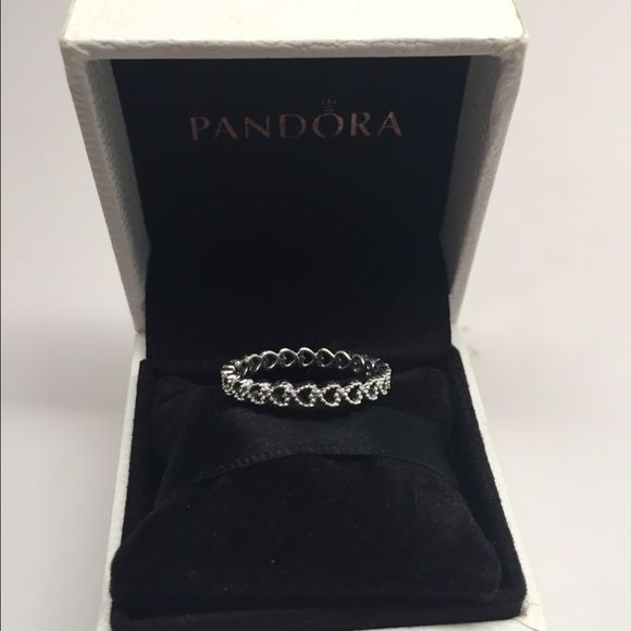 b94415a0e Pandora Linked love ring size 7.5 New pandora ring. Others sizes available  just ask Pandora Jewelry Rings