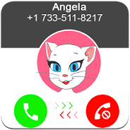 Juega Call From Talking Angela On Pc Angela Character Fictional Characters