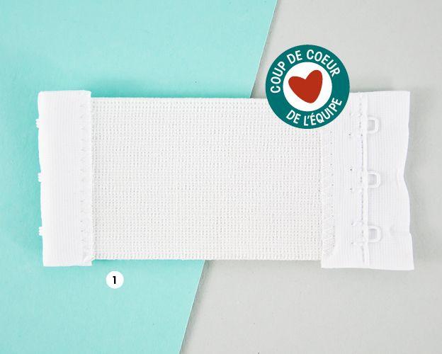 Club Tissus - Rallonge pour soutien-gorge | Astuce - ID | Pinterest ...