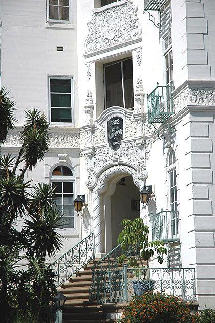 El Mirador Apartments Los Angeles Designed By Theater Architect S