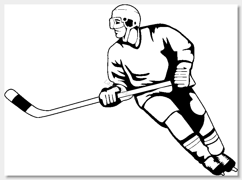 hockey clip art images free clipart clipartix kuvis vinkkej rh pinterest com clip art hockey puck on ice clip art hockey sticks