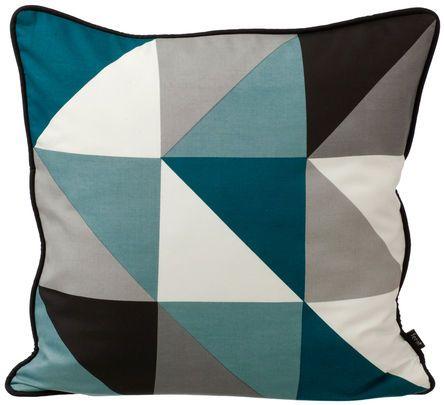 Remix Cushion - Blue - Magasin Onlineshop - Køb dine varer og gaver online - Magasin Onlineshop - Køb dine varer og gaver online