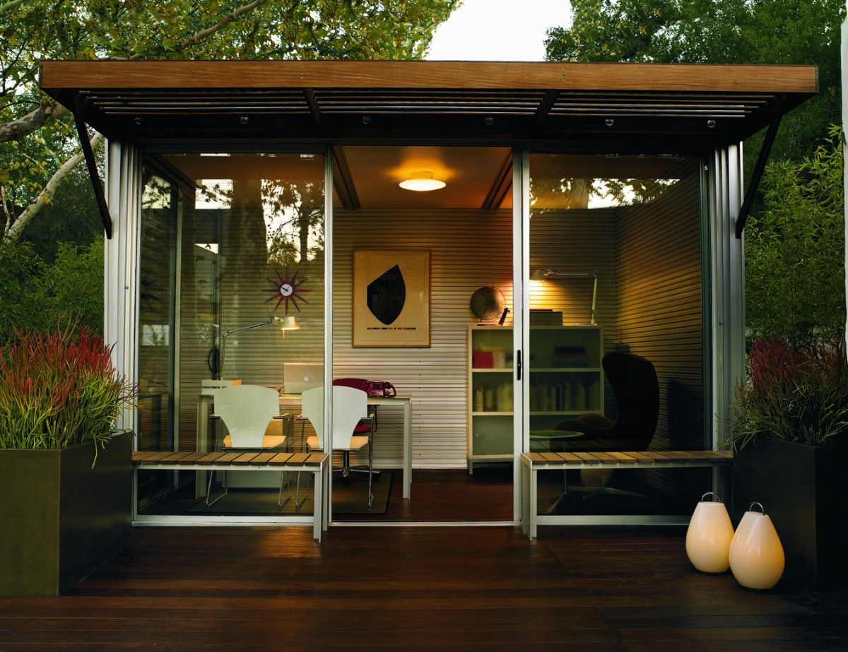 #prefab #backyard #office Solution From @kithaus