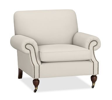 Brooklyn Upholstered Armchair #potterybarn