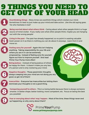 How to Clear Your Mind and Get Out of Your Head - Prime Your Pump