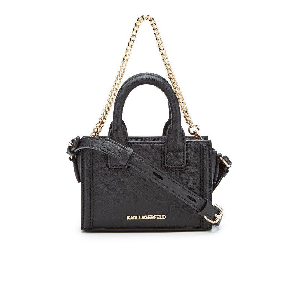 1f2c3ea3e199 Karl Lagerfeld Women s K Klassik Micro Tote Bag - Black