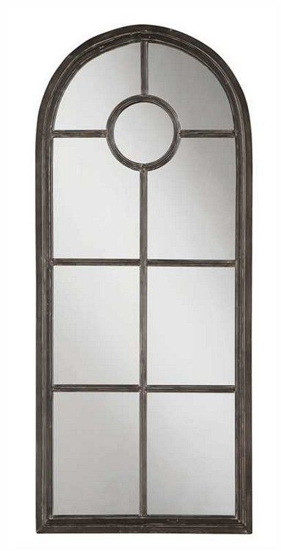 metal framed mirror in black de2934 by creative co op creativeco op metal framed