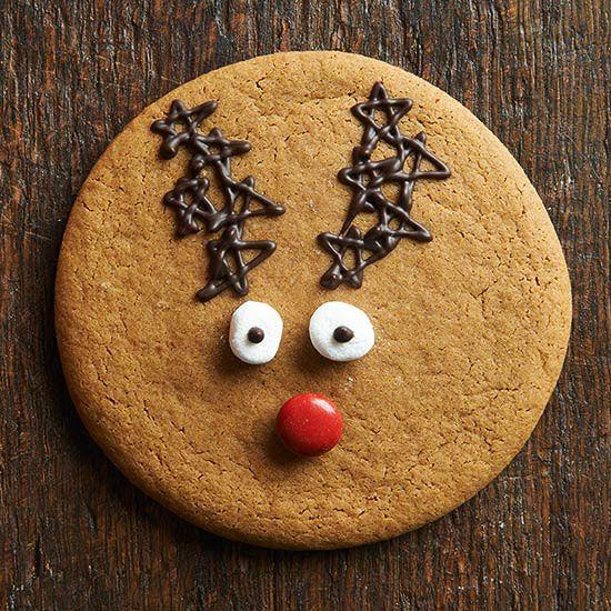 Santa and Reindeer Christmas Cookies #reindeerchristmas