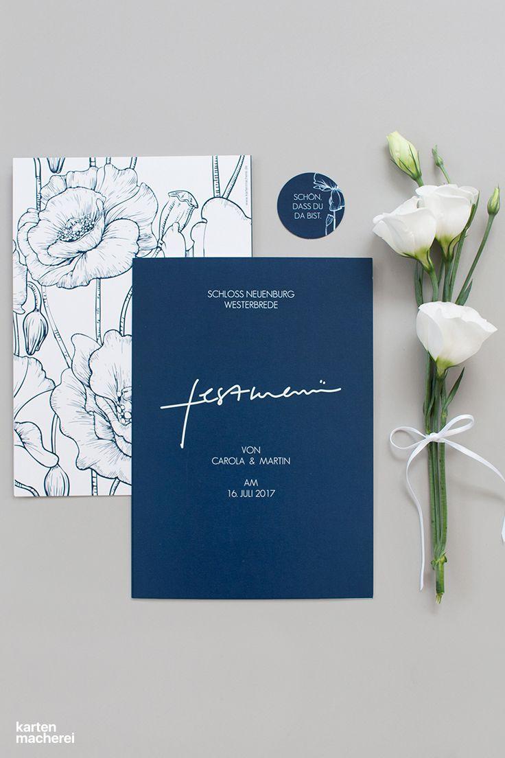 Hochzeitseinladung Glanzvoll Premium Hochzeitseinladung