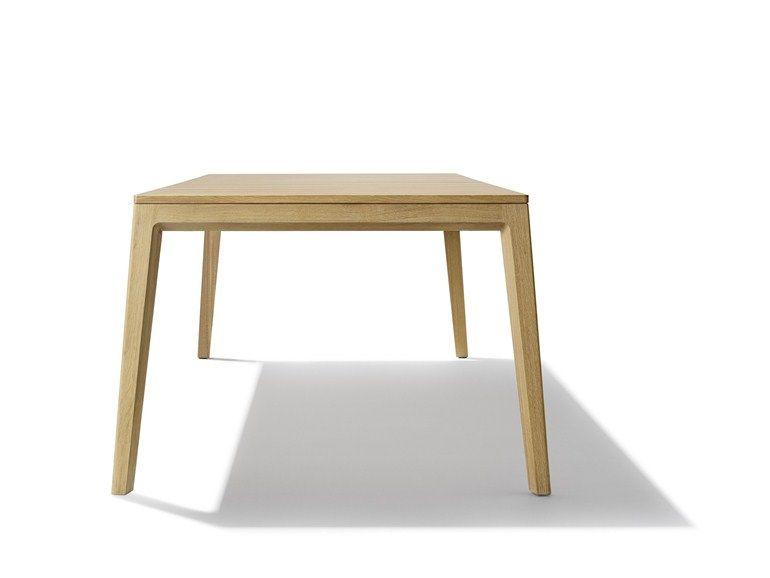 Extending wooden table MYLON   Extending table by TEAM 7