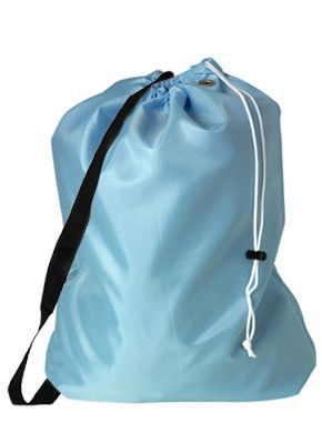 Jumbo Laundry Bag With Side Strap Bags Black Side Fashion