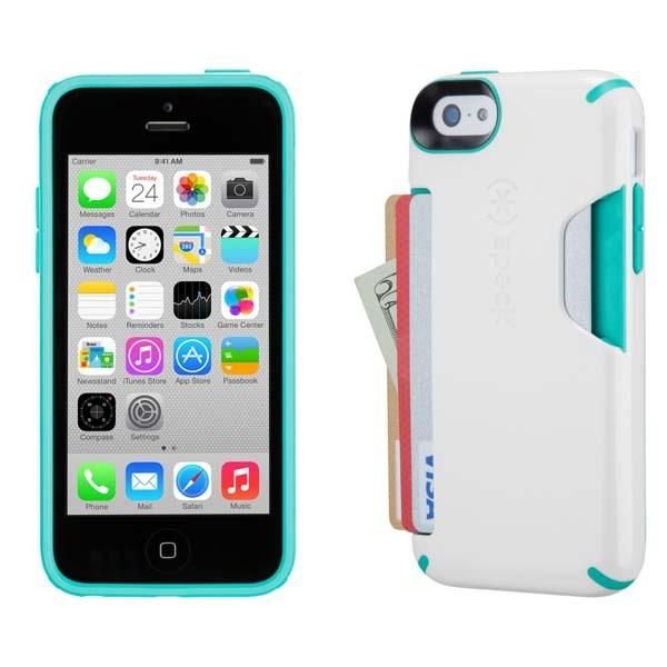 buy online cdefd 04f3d Speck CandyShell Card iPhone 5c Case with Card Holder | Apple ...