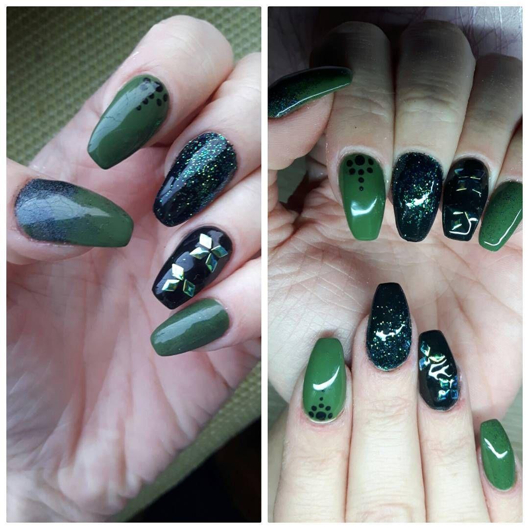 Punktlich Zum Fruhlingsbeginn Wird Es Grun Auf Unseren Nageln Verwendet Wurde Juliana Nails Nagellack Gel Effekt Ge127 In 2020 Nails Inspiration Nails Beauty