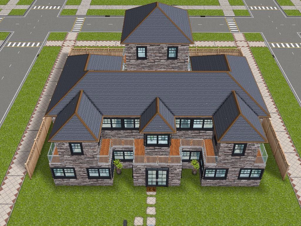 House 75 remodelled player designed house - full view #sims ...