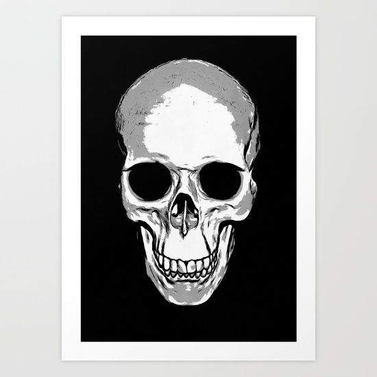 Monotone Skull is a sketch a human skull digitally coloured. Fabulously eerie skull gifts perfect for Halloween, Day of The Dead, Goths and Rockers. Perfect for a unique gift or present or just a fashion accessory for your own. Skulls are not just for the enjoyment of <br/> paleoanthropologists.<br/> <br/> anatomical, anatomy, ancient, vintage, biological, dead, death, halloween, head, health, healthcare, medical, skeleton, skull, teeth, vector, white, cranium, braincase, deaths head…