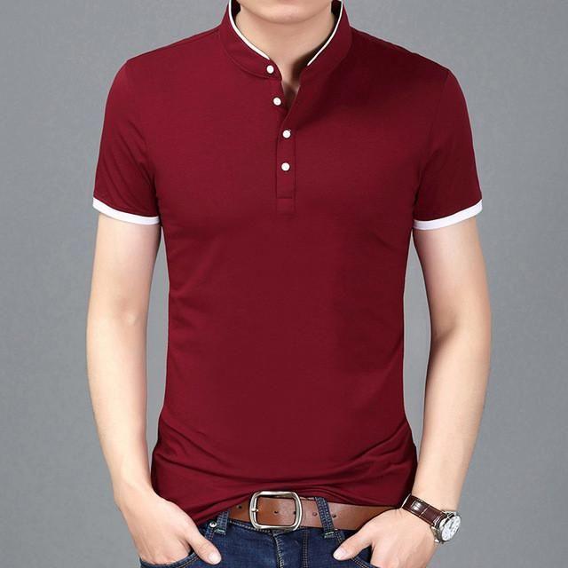 New Fashion Mens Stylish Casual T-Shirts Slim Fit Short Sleeve NEW Shirt Tops