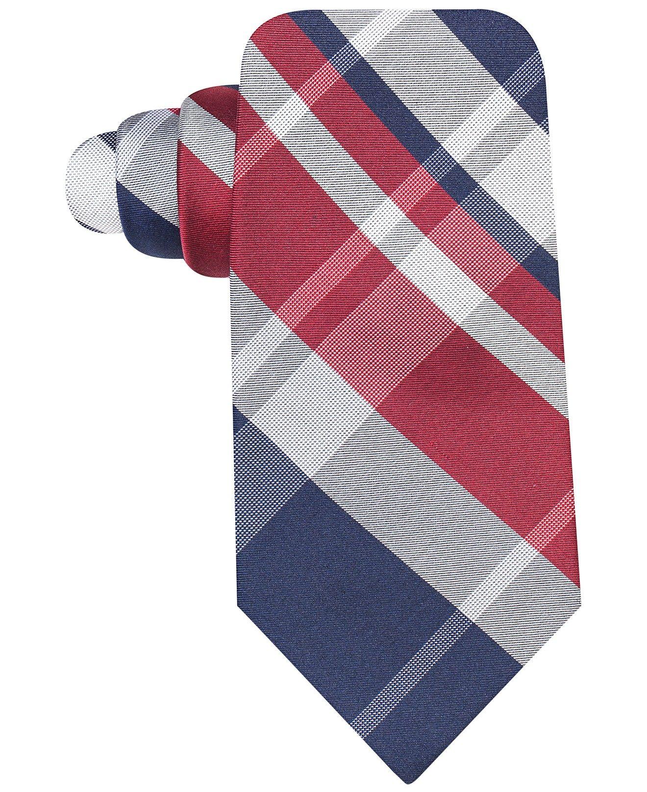 Ryan Seacrest Distinction Backlot Plaid Slim Tie - Ties & Pocket Squares - Men - Macy's