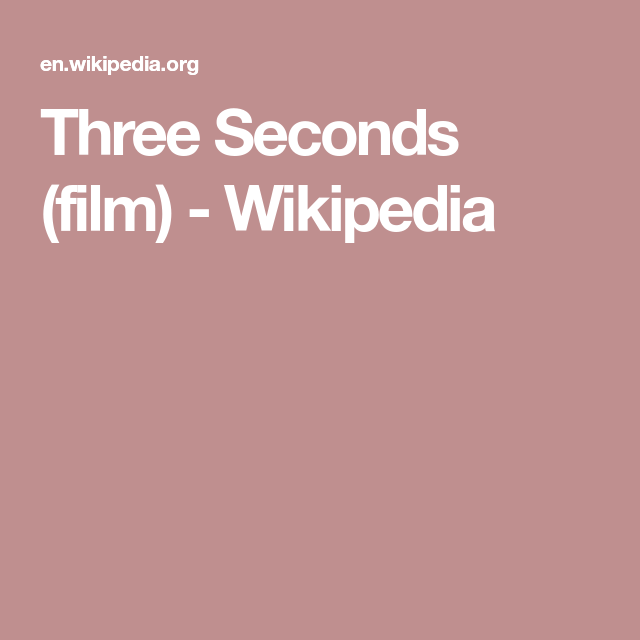 Watch Three Seconds Full-Movie Streaming