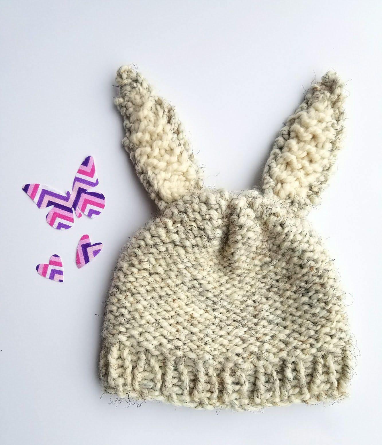 e64512209e3 Knit Bunny Hat
