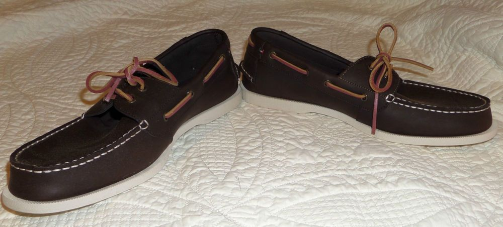 Tommy Hilfiger Bono Men's Loafers Moccasins Boat Dock Leather Shoes Casual shoes #TommyHilfiger #BoatShoes