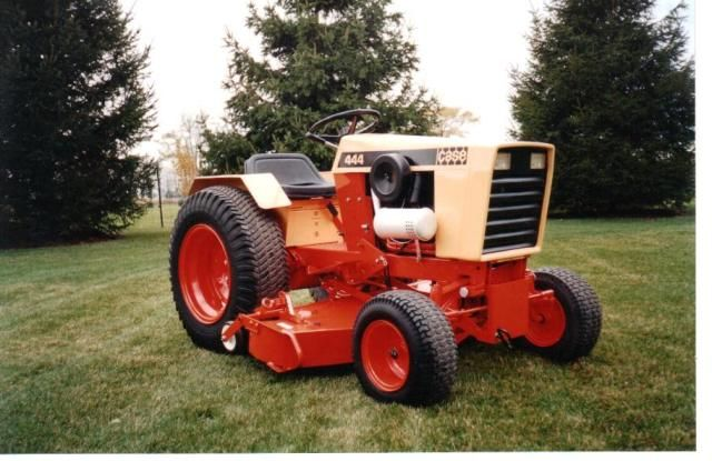Case 444 Mowers Tractor Mower Classic Tractor Case