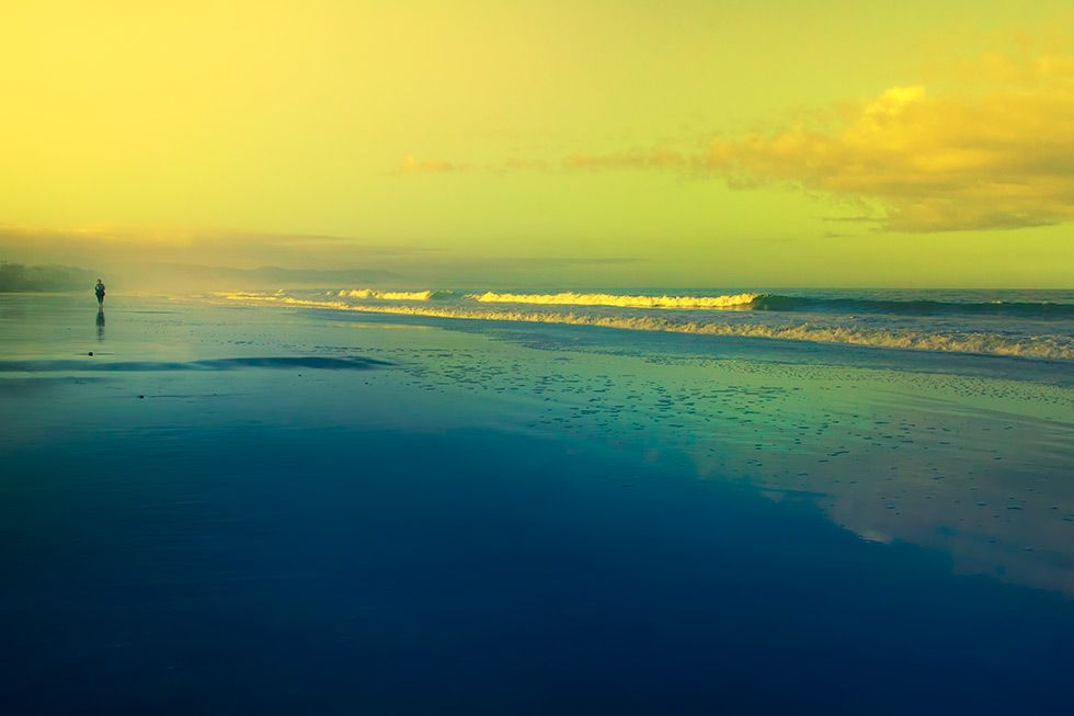 Oh Sacred Sea Pastel