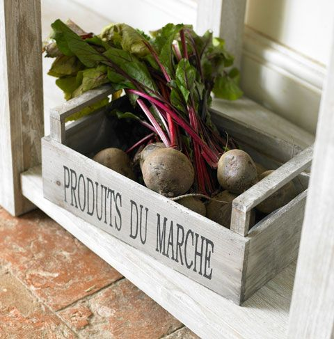 Market Vegetable Box   Make With Pallet Wood.