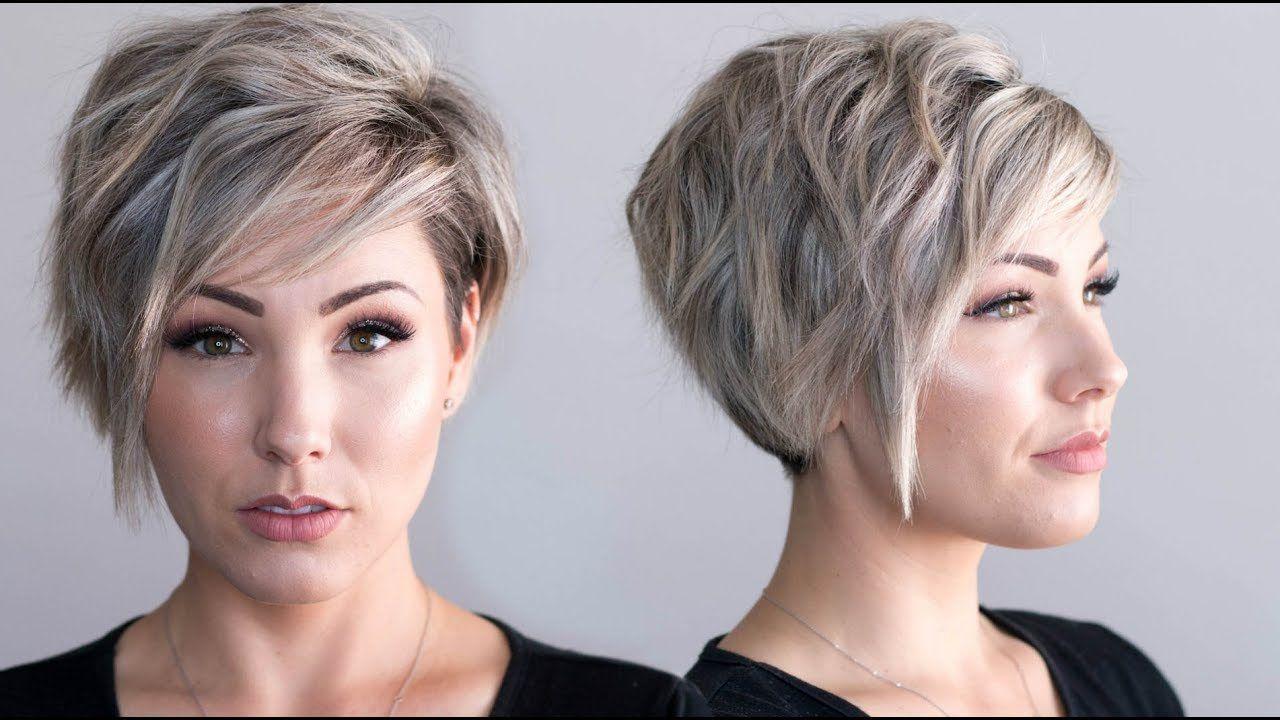 Voluminous waves pixie cut youtube haircuts pinterest
