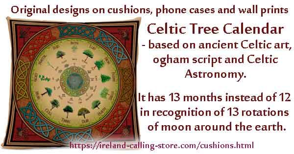 The Celtic Tree Calendar \u2013 following the lunar cycle To Make