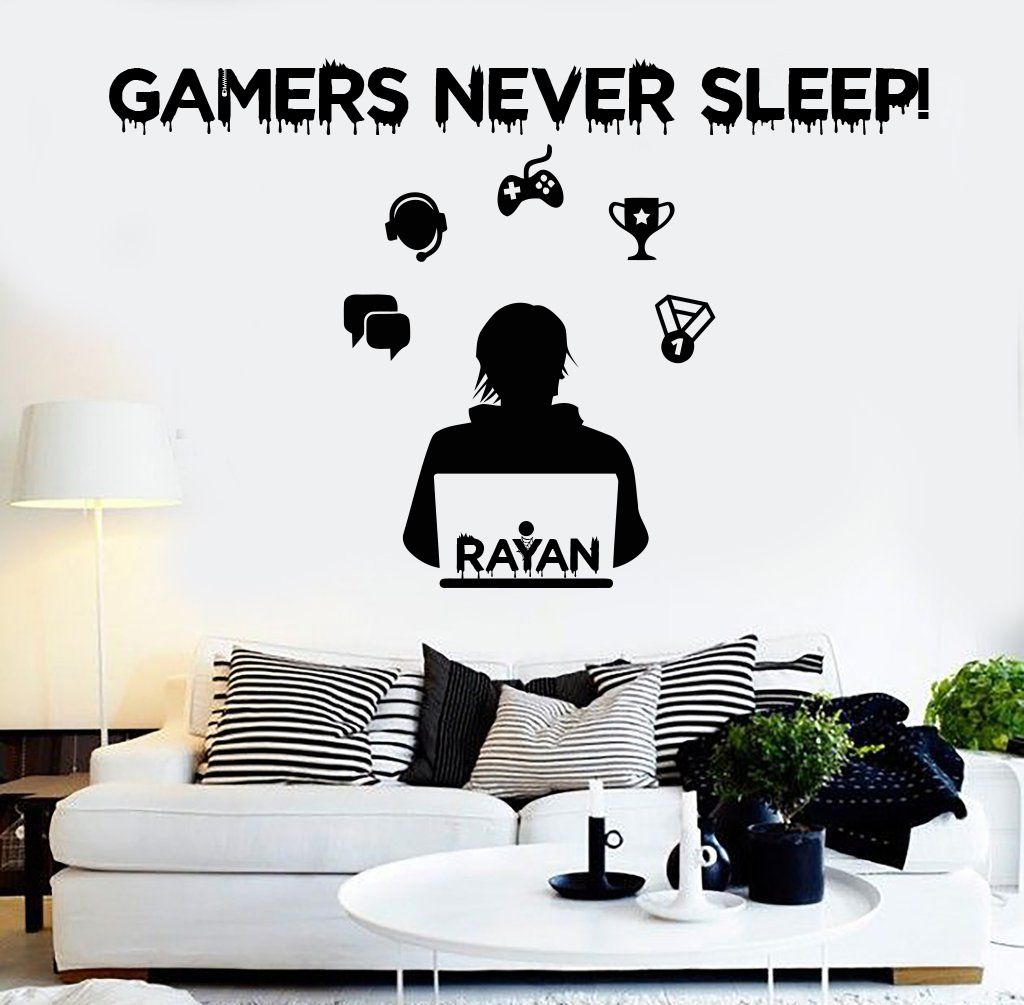 Handmade Products Home Kitchen Gamer Childrens Vinyl Wall Art Quote For Childrens Bedroom Artwork Wall Stickers Kubicolab It,Kitchenaid Dishwasher Installation Kit Home Depot