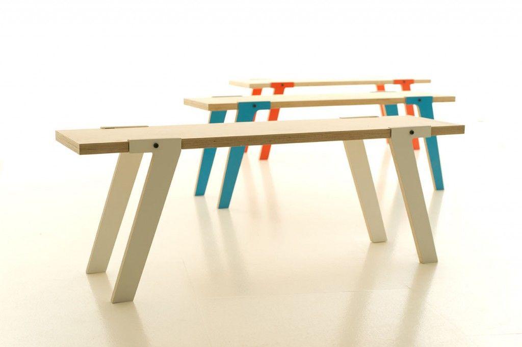 Houten Bankje Slaapkamer : Stoer houten bankje switch bench betaalbaar design reuzehip