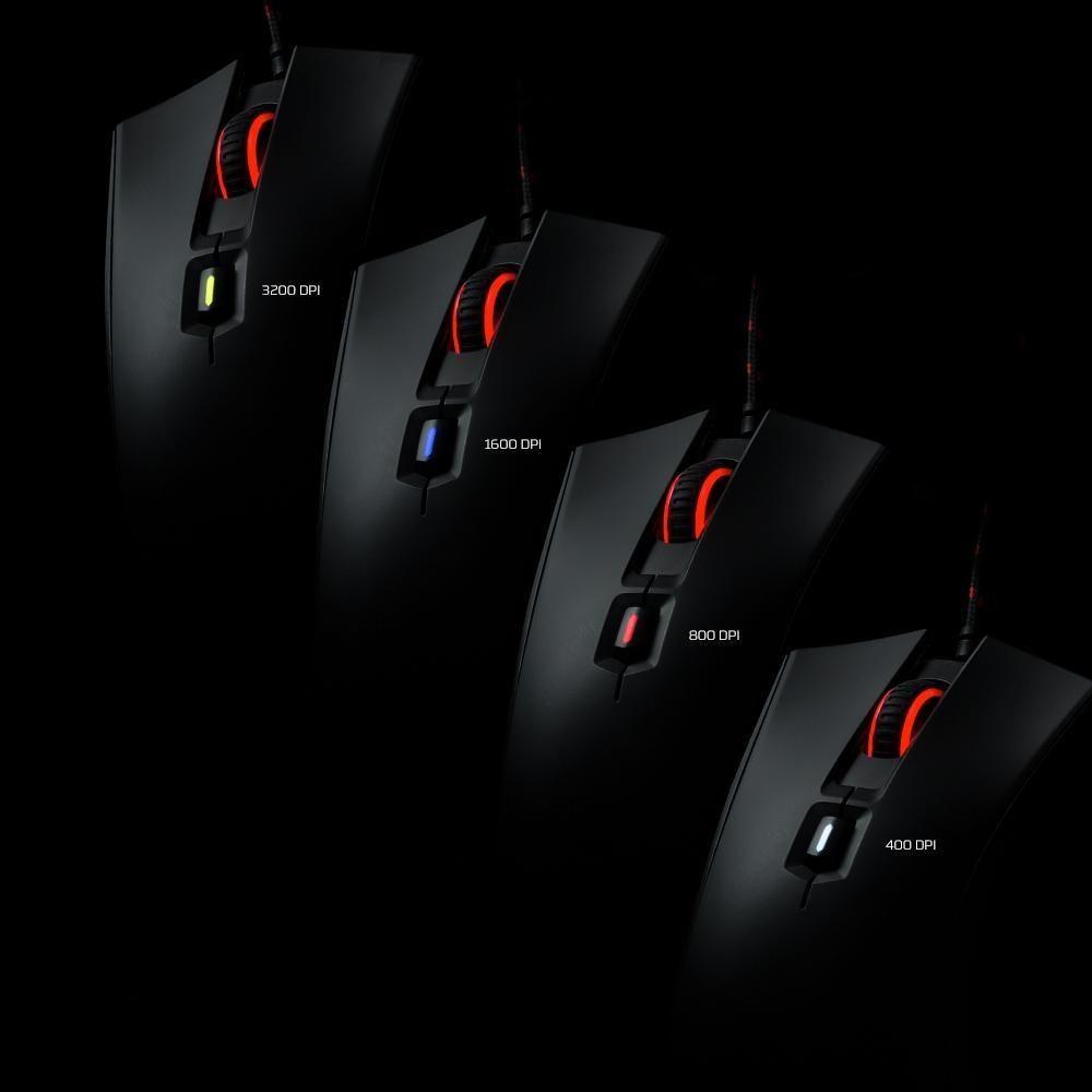 Kingston Hyperx Pulsefire Fps Mouse Gamer 400 800 1600 3200 Dpi Ergono Shoppostore Hyperx Professional Gaming Mouse