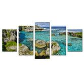 Found it at Wayfair - 'Seaglass III' by Christopher Doherty 5 Piece Photographic Printt on Wrapped Canvas Set