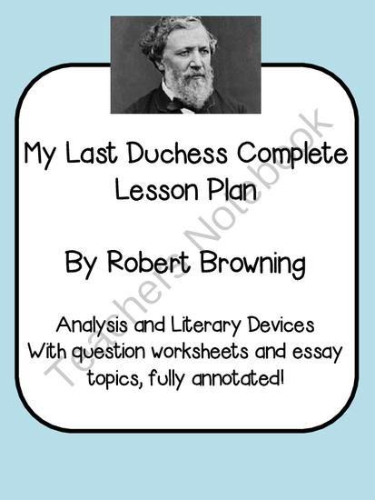 Robert Brownings Poetry Structure British Literature Robert Browning