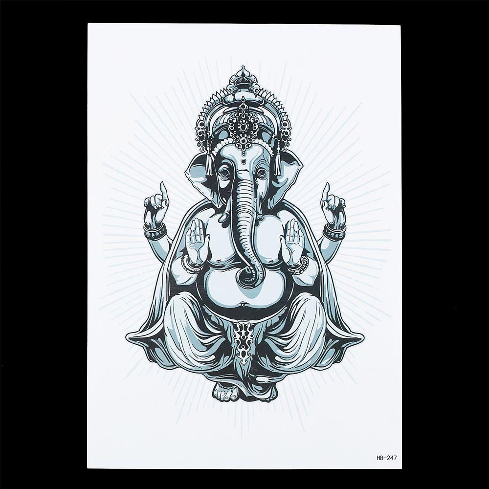 11 ganesha tattoo designs ideas and samples - Resultado De Imagen De Ganesha Tattoo Plantilla