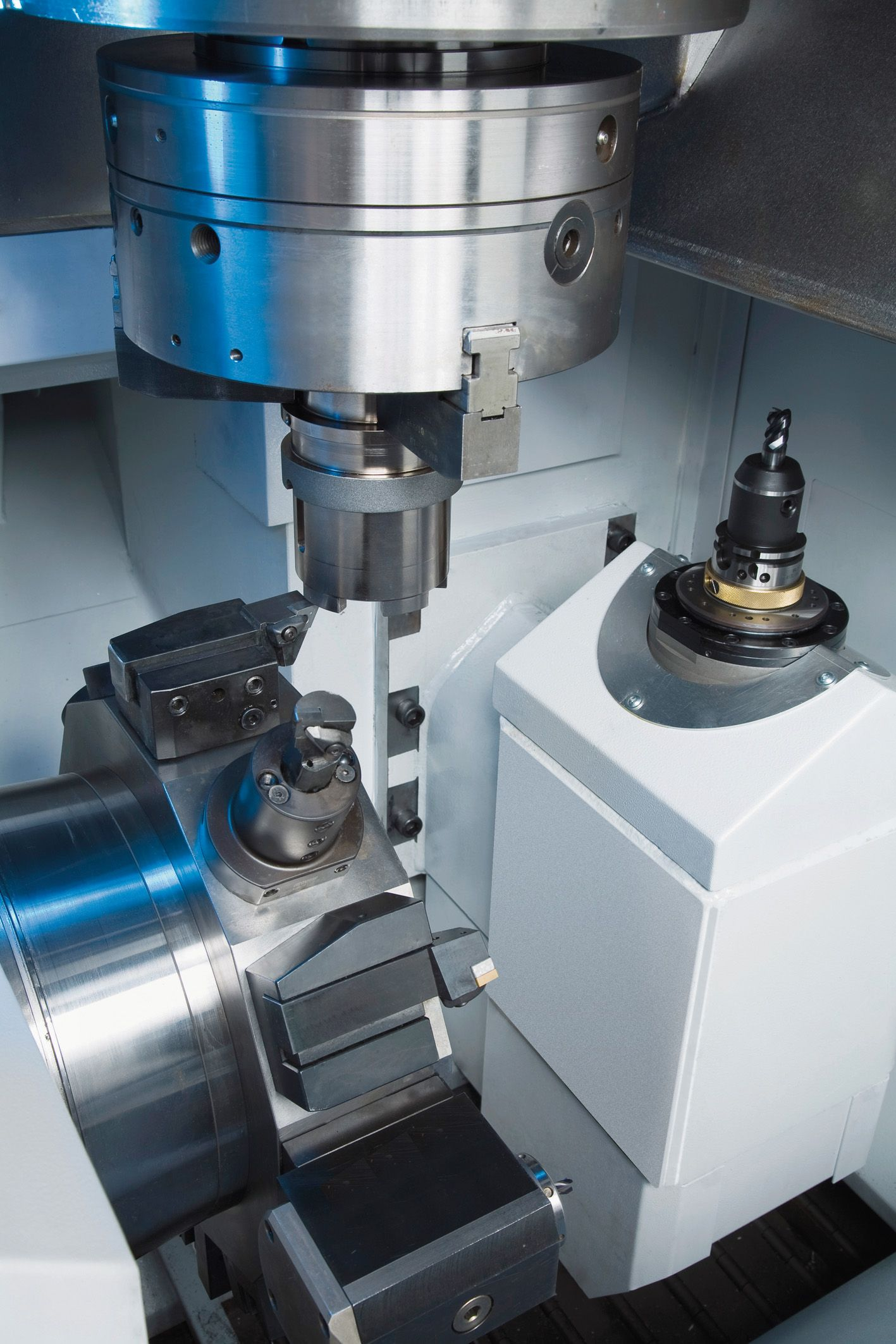 Vertical Turning Center Vlc 250 Universal Application Turn Ons Working Area Metal Lathe