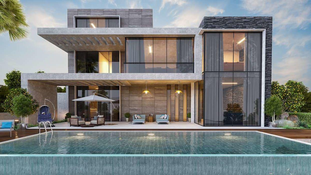 Vero concept mi̇marlik – urla kekliktepe villa: tarz evler, modern
