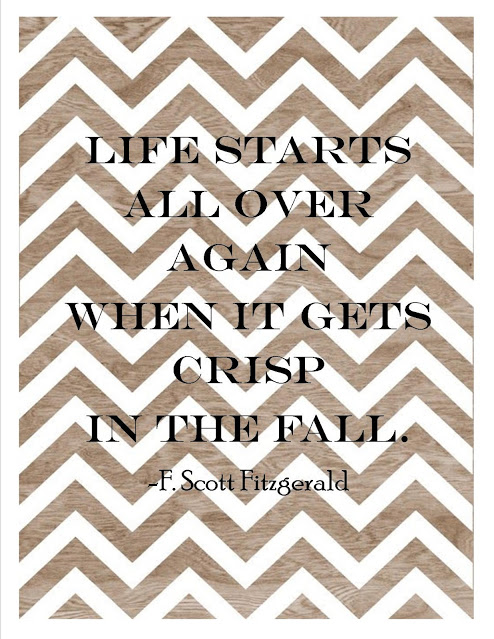 Falling for Fitzgerald Free Printable