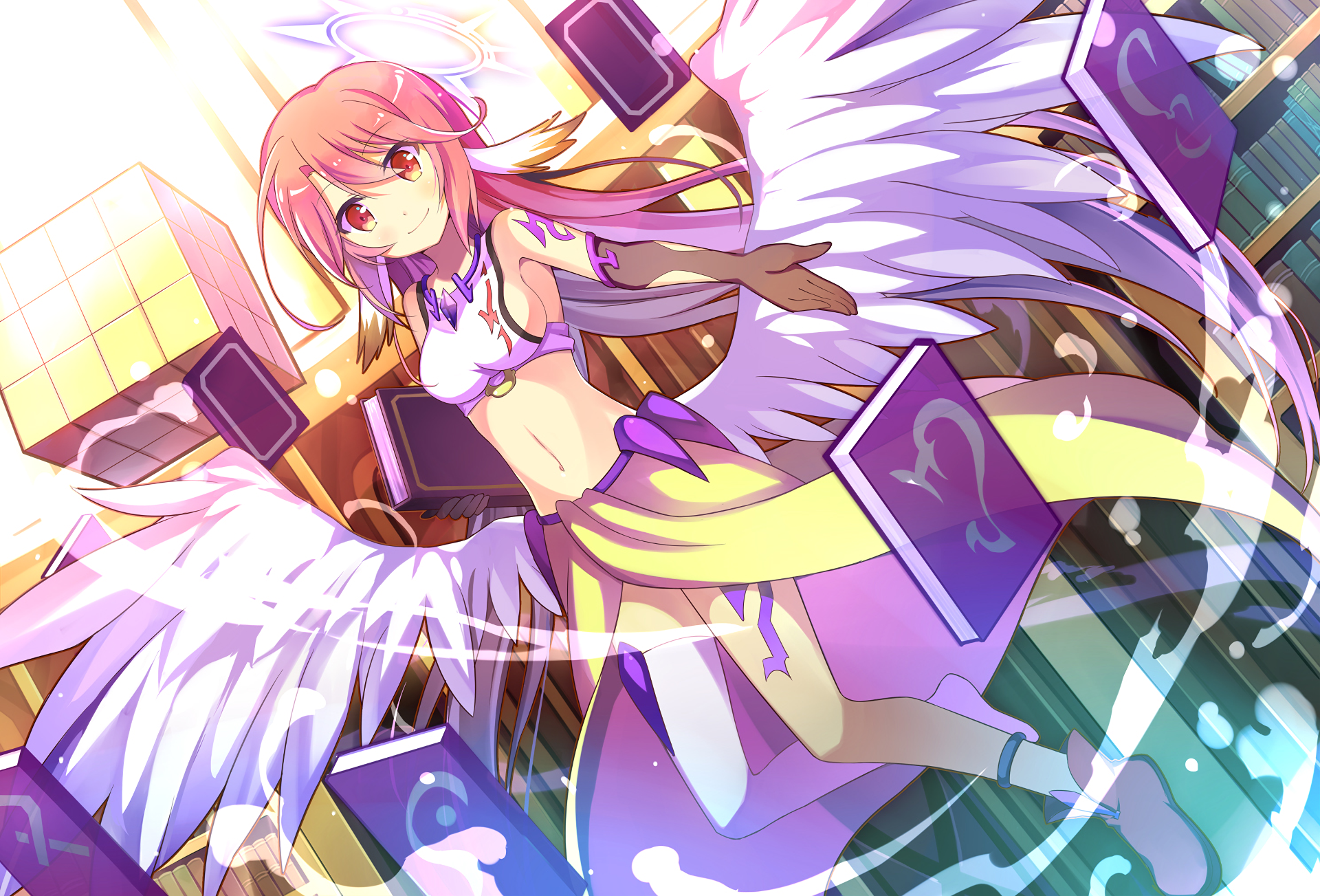 Anime No Game No Life Jibril No Game No Life Wallpaper