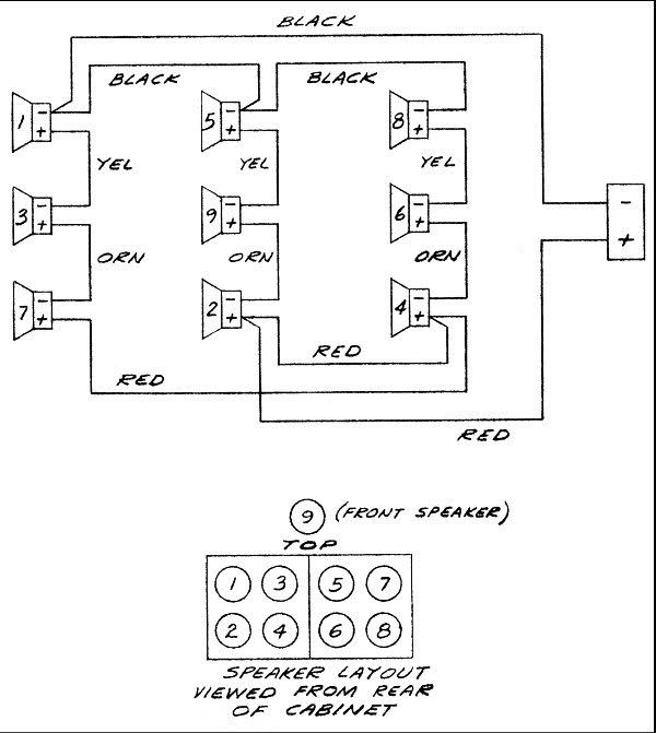 bose 901 wiring diagram manual e books  yamaha wiring diagram bose 901 to powered mixer wiring diagram