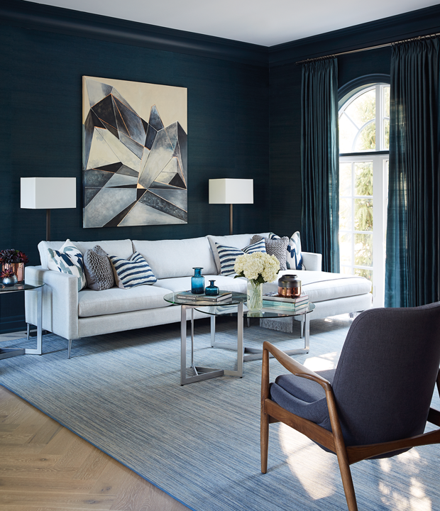 20 papiers peints spectaculaires pour une d co cosy d co. Black Bedroom Furniture Sets. Home Design Ideas