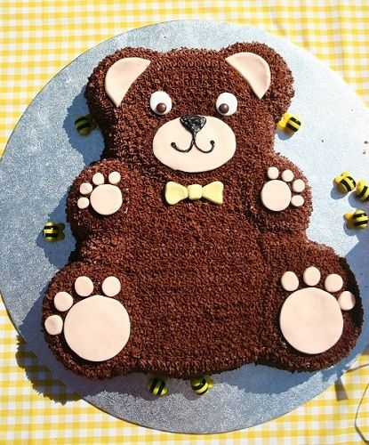 A Super Idea For A Cake For Any Kids Teddy Bear Picnic Party A