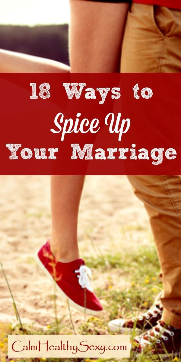Pity, spicing up sex in your marriage