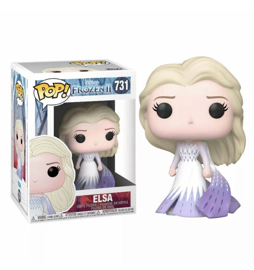 Funko Pop Vinyl Frozen 2 Elsa 731 Funko Pop Anime Pop Figures Disney Funko Pop Disney