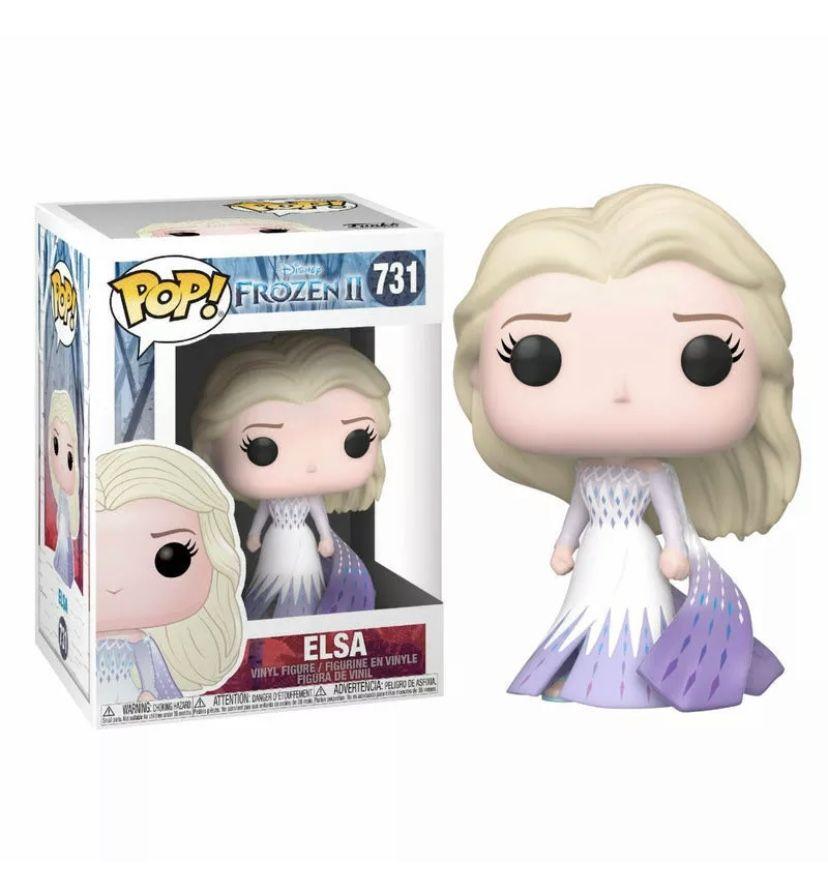 Funko Pop Vinyl Frozen 2 Elsa 731 Funko Pop Anime Pop Figures Disney Funko Pop Disney