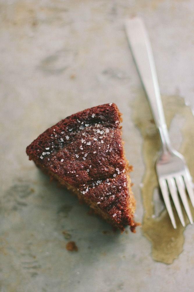 Honey Cake with Fleur De Sel | The Vanilla Bean Blog