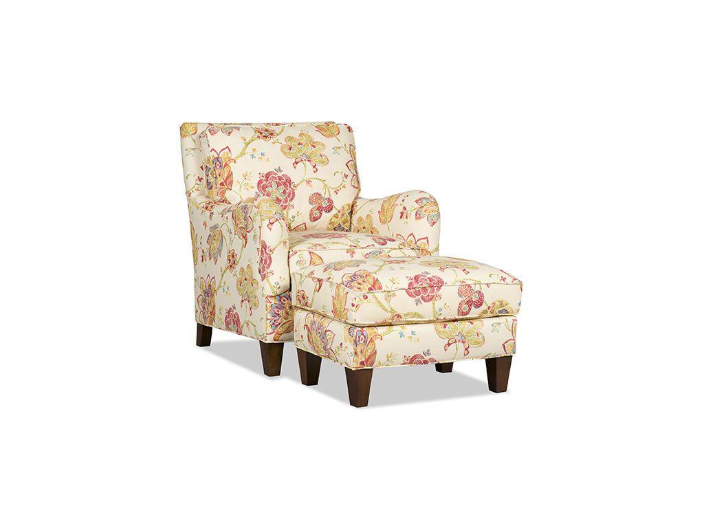 Sam Moore Living Room Amarado Ottoman 1720   Bostic Sugg Furniture    Greenville, NC