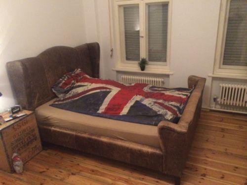 Bett, 160x200, Kolonialstil , Designer Bett, Vintage Bett ...